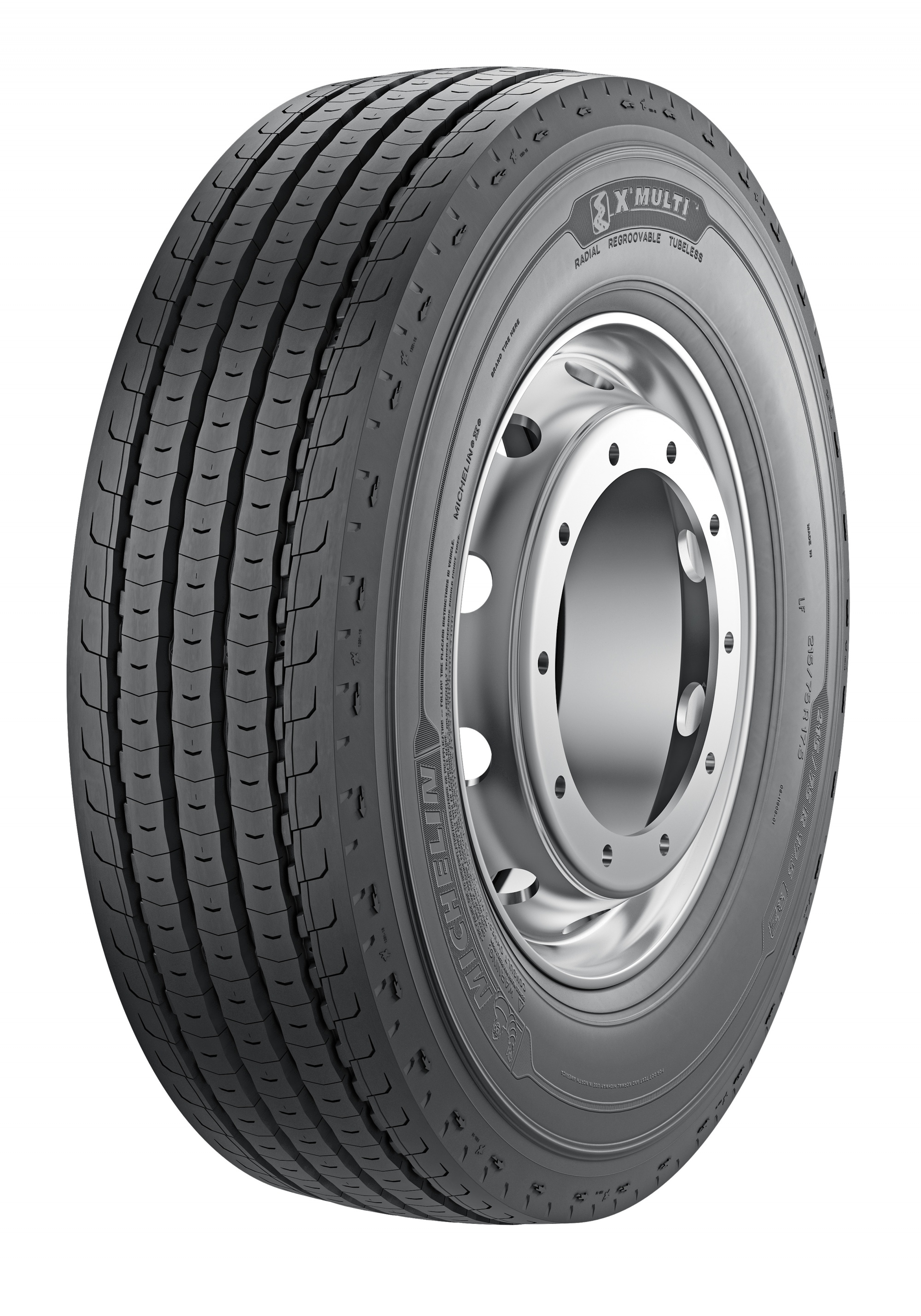 Автошина 245/70 R17.5 Michelin X Multi Z 136/134M TBL универс.